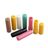100 x 4 ml de colores surtidos Nuevo exclusivo DIY Blam de labios Tubo vacío Contenedor de cera de boca redonda superior Tarro