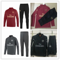 2018- 19 Arsenal tracksuit gunners OZIL Football jacket socce...