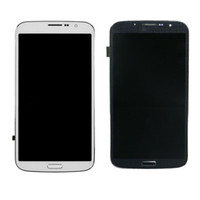 For Samsung Galaxy Mega 6.3 I9200 I9205 I527 Original Touch Screen Digitizer LCD Display With Bezel Frame Full Assembly Screen Replacement