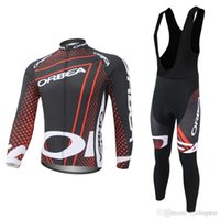 manica Maillot lunga Orbea Ropa Mtb Pro Maglie Tuta ciclismo Bike Team XuPOkZTi