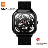Xiaomi Mijia MI CIGA Design Hollowed-out Men Wristwatches Watch Reddot Winner Stainless Fashion  Automatic Watches