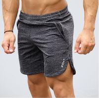 Мужские летние новые шорты для фитнеса Модные спортивные залы Crossfit Бодибилдинг Тренировки Бегуны мужские шорты Бренд одежды