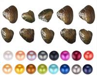 Vakum paketleme 31colors ile 6-7mm inci istiridye istiridye Fantezi Hediye Akoya inci ucuz aşk tatlı su kabuk inci