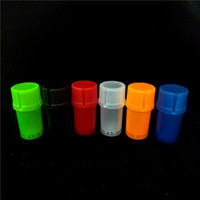 2018 new Med Container 3 Parts Plastic Grinder Secure twist ...