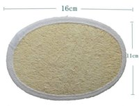 11 * 16 سنتيمتر اللوف الطبيعي وسادة اللوف الغسيل إزالة الجلد الميت اللوف سادة الإسفنج للمنزل أو الفندق lin1583
