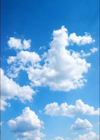 Vinyl Custom Sky and cloud theme Photography Backdrops Prop ...