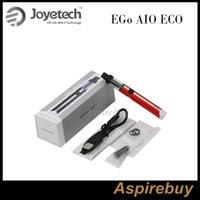 Joyetech eGo AIO ECO Kiti Hepsi Bir Arada Vaping Seti 650mah Pil Kapasitesi ve 1.2ML Tank Kapasitesi 6.8W Maksimum Çıkış Kullanımı kolay% 100 Orijinal