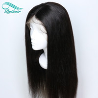 Bythair Human Hair Wig Full Lace Wig Pre- plucked Hairline Si...