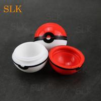 NonStick 6ml Silicone Jar Jar Colore misto Nuovo lotto all'ingrosso nero 8 elfi rossi scatola di immagazzinaggio cera olio 420