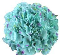 Большая лепесток синий гортензия искусственный ср. Цветы фиолетовый и синий шелковый цветок для цветной стены ср. Ср.