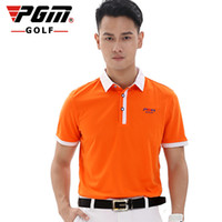 Pgm Golf Men Summer Short Sleeve T- Shirt Breathable Elastic ...
