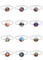 Creative Christmas bracelet 12 styles alloy chain with Santa...