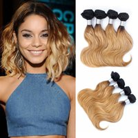 50g bundle Color 1B 27 Ombre Honey Blonde Body Wave Hair Wef...