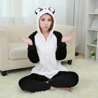 New Design Panda Pajamas Cartoon Animal Costume One Piece Py...