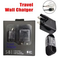 Top quality uk plug s8 fast usb wall charger for samsung gal...