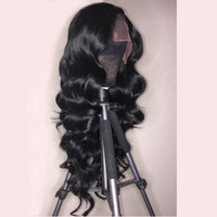 full lace wigs Lace Front wigs loose Water wave texture Huma...
