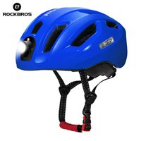 ROCKBROS Bicycle Road Bike Light Helmet 2018 Removable Secur...