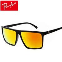 Pro Acme Praça Óculos De Sol Dos Homens Designer De Marca Espelho Photochromic Oversized Óculos De Sol Masculino óculos de Sol para Homem CC0039