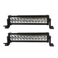 14inch 72W LED Barra de luz de trabajo Blanco 12V 24V Offroad LED Car Truck SUV ATV 4X4 4WD Trailer Pickup Lámpara de conducción