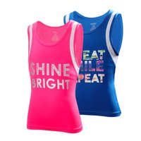 Pink Sports Vest Female Fitness For Girl Tight Suit Sport Ve...