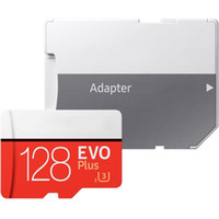 جديد EVO Plus 32GB 64GB 128GB Class 10 80MB / s EVO + UHS-I Memory TF Card with Adapter Retail Package