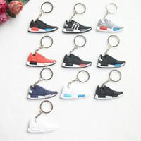 Sevimli Mini Araba Anahtarlık Erkek Erkek Anahtarlık Hediyeler Sneaker Şekli Anahtar Accessoties Spor Ayakkabı Anahtarlık