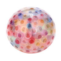 Novedad Bead Stress Ball Wubble Fulla Mármoles Anti Stress Reliever Ball Squishy Straps Squeeze Stretchy Funny Tricky Charms Regalo de Navidad