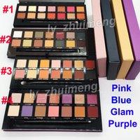 Makeup Eyeshadow 14 Colors Modern Eye shadow Palette with br...