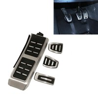 Fuel Brake Footrest Pedals MT Fit For Audi A4 B8 S4 RS4 A5 S...