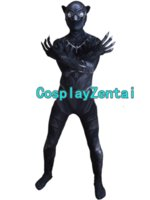 Black Panther Costume 3D- Shade Cosplay Zentai Suit Spnadex H...