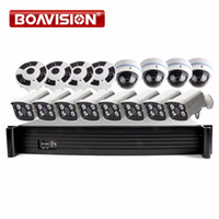 16CH POE NVR System Kit With 2MP 1080P Security Bullet & Dom...