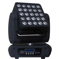 DMX512 Stage King Panel Matrix 5x5 LED Movinghead 25 stks x 10W 4 in 1 LED-matrix Moving Head Beam Light