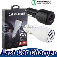 QC3. 0 Fast Charger 12V 9V 5V Quick Charger Car Charger Dual ...