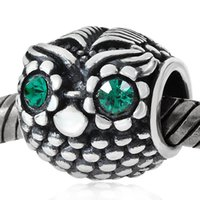 925 plata esterlina fascinante Teal Murano Glass Beads Fit para Pandora encanto europeo Braceletse collares c26