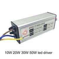 LED Trafo 10 W 20 W 30 W 50 W Led Sürücü Led Işıklandırmalı Tavan Işıkları Downlight için Su Geçirmez IP67 Güç Kaynağı