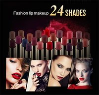 NICEFACE Brand Makeup Waterproof Pigments Red Metallic Lipst...