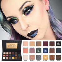 HANDAIYAN 18 Colors Eyeshadow Palette Smoky Cosmetics Matte ...