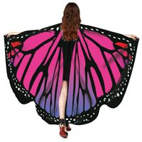 2018 Women Butterfly Wings Shawl scarves women Nymph Pixie P...
