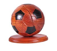 Toy Building Blocks Toys Wooden Crafts Fine Toys Football Re...