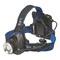 3800LM XM- T6 Led lighting Use AA Battery ZOOM head lamp Hunt...