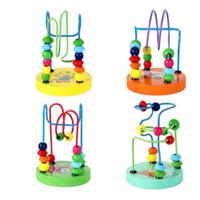 al por mayor juguetes para niños baby doll kids Cuentas de juguete educativo cadena de cuentas juego Mini alrededor de chasis animal Muchos estilos