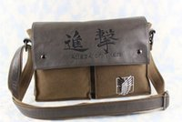 Cosplay Attack on Titan no Kyojin Scouting Messenger Borsa a tracolla Satchel Pouch
