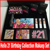 New 21st Makeup Set Birthday Collection hello 21 Make Up Kit...