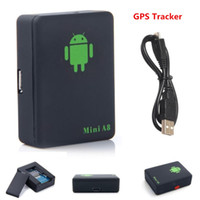 Mini A8 Car Tracker GPS globale in tempo reale 4 frequenza GSM / GPRS di sicurezza Auto Tracking dispositivo di supporto Android per bambini Pet Veicolo