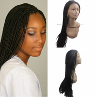 Hot Sales african american premium black synthetic micro twi...