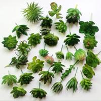 نباتات اصطناعية مع إناء بونساي الصبار الاستوائية وهمية نبات عصاري بوعاء مكتب ديكور المنزل اناء للزهور