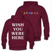Sudaderas unisex Hombres Mujeres Sudaderas con capucha Astroworld