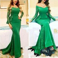 2019 Myriam Fares Long Sleeves Evening Dresses 2019 Mermaid Long Party Gowns Off Shoulder Celebrity Red Carpet Dresses Arabic BC0088