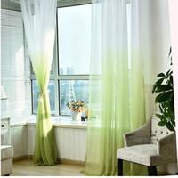 Tulle Rideaux 3d Imprimé cuisine Décorations Traitements Fenêtre américaine Salon Diviseur Sheer Panneau simple rideau Voile