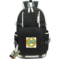 HIF рюкзак Hammarby с логотипом дневная упаковка Стокгольмский футбольный клуб школьная сумка Футбольный рюкзак рюкзак Спортивная школьная сумка Дверной рюкзак